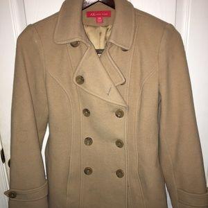 Anne Klein Camel Pea Coat